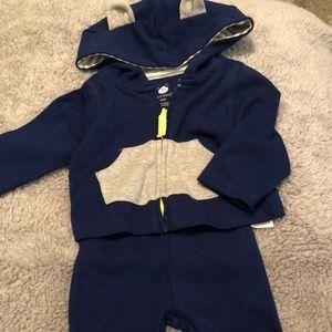 Cloud Island Newborn Sweat Suit